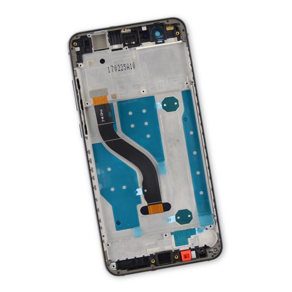 Huawei P10 Lite LCD Screen and Digitizer Assembly / Black / Part Only