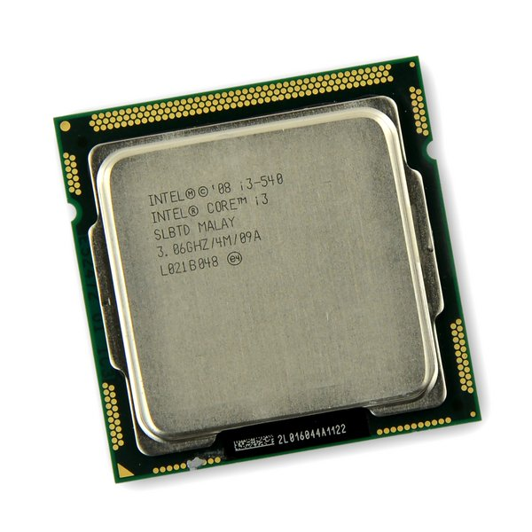 Intel i3-540 Desktop CPU