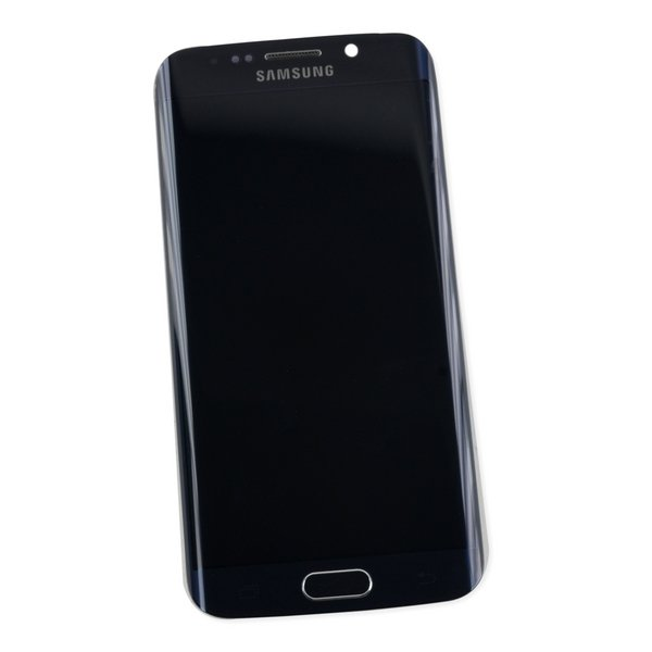 Galaxy S6 Edge LCD Screen and Digitizer Assembly (GSM) / Black / A-Stock