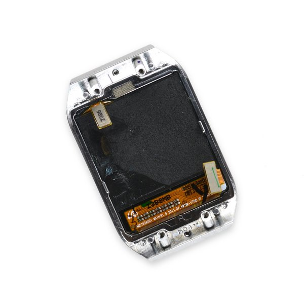 Galaxy Gear (1st Gen) Display Assembly / Silver / B-Stock