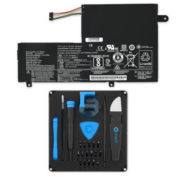 Lenovo Flex 4-1470, Flex 4-1570, Ideapad 320S, 330S-14, 330S-15, and Yoga 510 Replacement Battery / Fix Kit