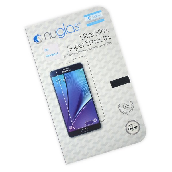 NuGlas Tempered Glass Screen Protector for Galaxy Note5