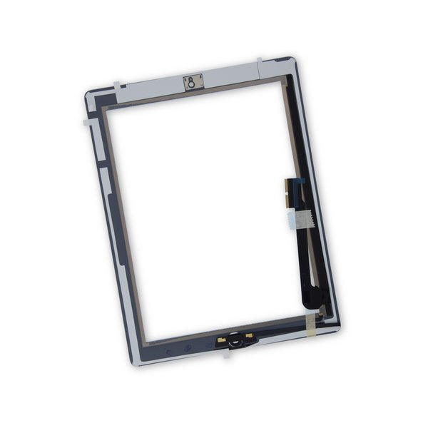 iPad 4 Screen Digitizer Assembly / New / Part Only / White