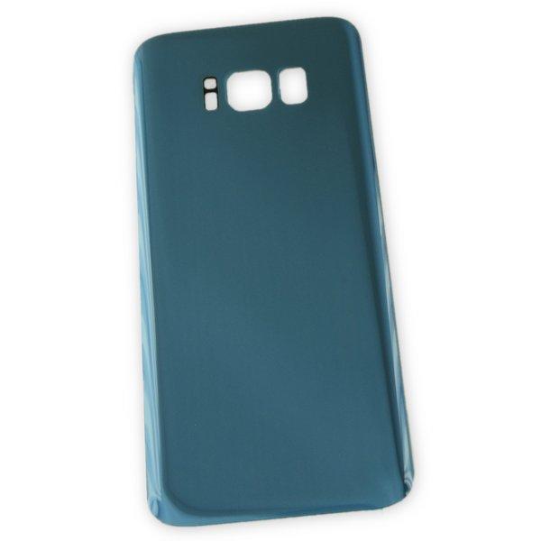 Galaxy S8 Aftermarket Blank Rear Glass Panel / Blue