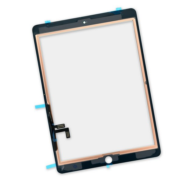iPad 5 Screen Digitizer / New / Part Only / White / With Adhesive Strips
