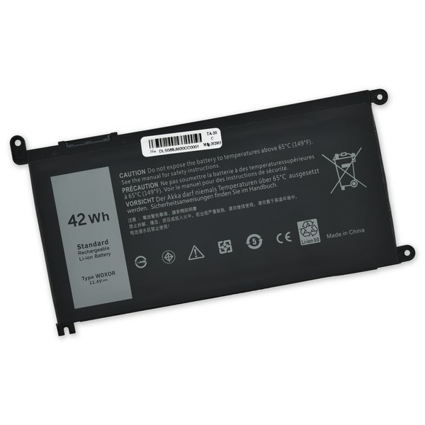 Dell WDX0R Replacement Battery / Part Only