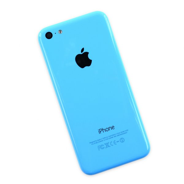 iPhone 5c Rear Case / Blue / A-Stock