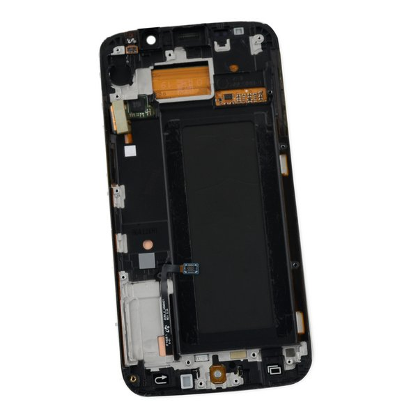 Galaxy S6 Edge LCD Screen and Digitizer Assembly (GSM) / White / A-Stock