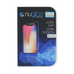 NuGlas Tempered Glass Screen Protector for iPhone X