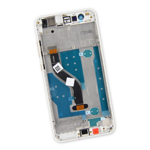Huawei P10 Lite LCD Screen and Digitizer Assembly / White / Part Only