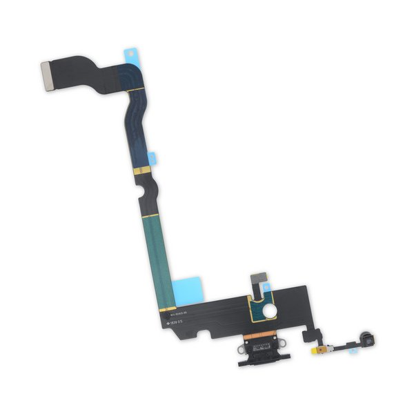 iPhone XS Max Lightning Connector Assembly / New / Black