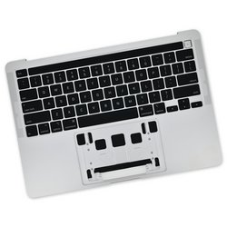 "MacBook Pro 13"" (A2289, 2020) Upper Case Assembly / A-Stock / Silver"