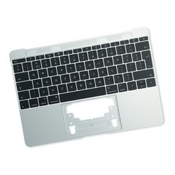 "MacBook 12"" Retina (Early 2016-2017) Upper Case with Keyboard / Silver"