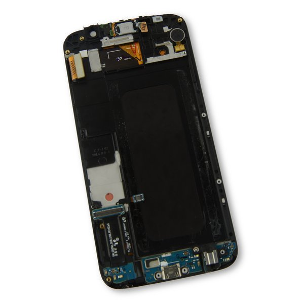 Galaxy S6 LCD Screen and Digitizer Assembly (AT&T) / Gold / A-Stock