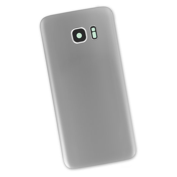 Galaxy S7 Edge Rear Panel/Cover / Silver / Part Only
