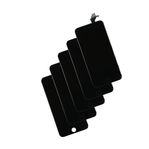 iPhone 6 Plus LCD and Digitizer (5-Pack) / New / Black