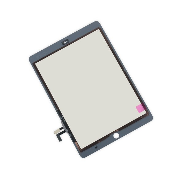 iPad 5 Front Glass/Digitizer Touch Panel / New / Part Only / White / With Adhesive Strips