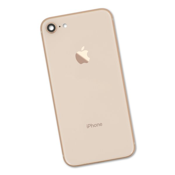 iPhone 8 OEM Rear Case / Gold / A-Stock