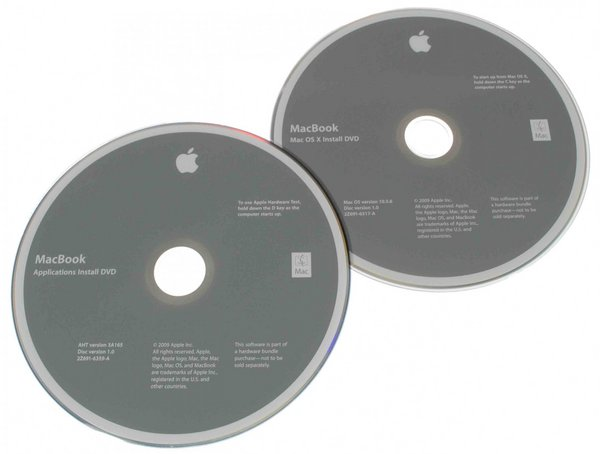 MacBook (Early/Mid 2009) Restore DVDs