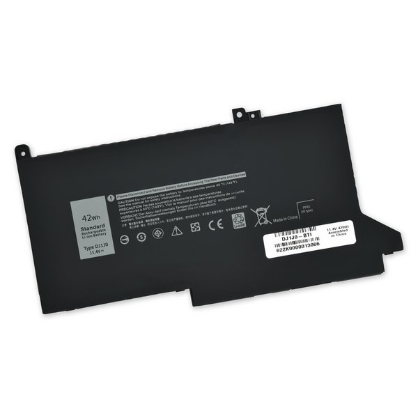 Dell Latitude 7280 and 7480 Replacement Battery / Part Only / 42Wh