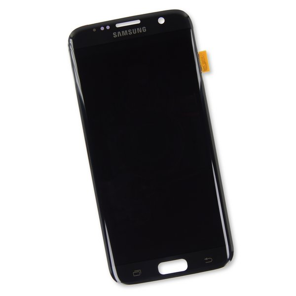 Galaxy S7 Edge Screen / Black / Part Only