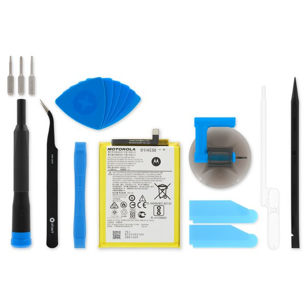 Moto E4 Plus Replacement Battery / Fix Kit