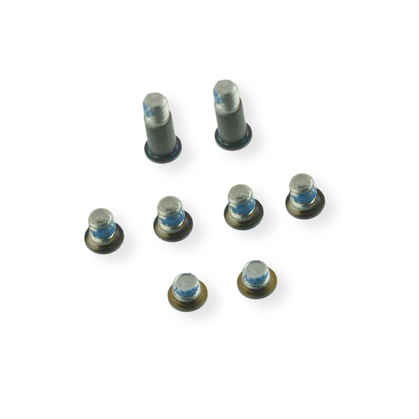 "MacBook 12"" Retina (Early 2015-2017) Lower Case Screw Set / Dark Gray"
