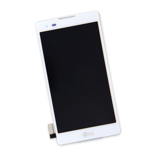 LG Tribute HD Screen / White