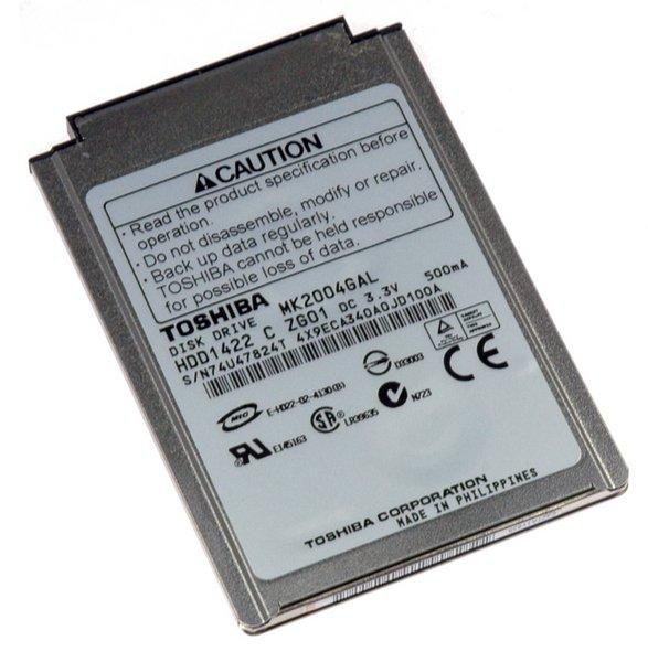 iPod 20 GB Hard Drive / Without Padding / Used
