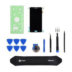 Galaxy Note5 Screen and Digitizer / Black / Fix Kit