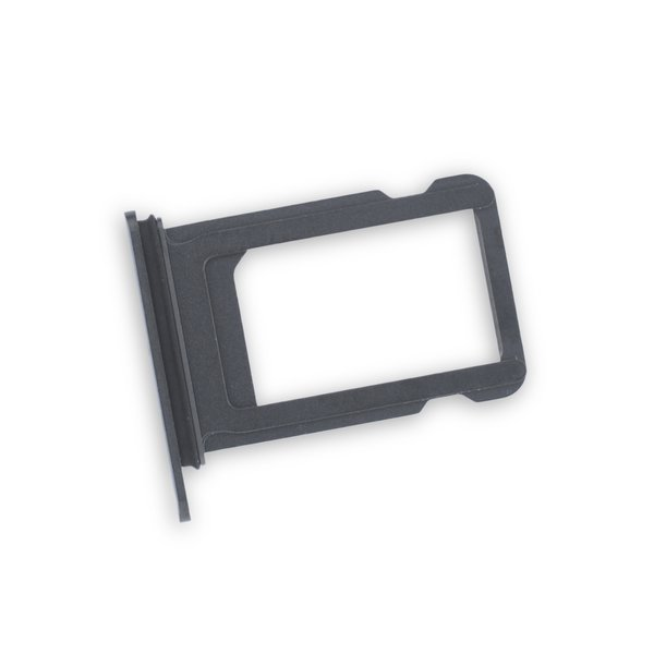 iPhone XS Single SIM Card Tray / New / Black