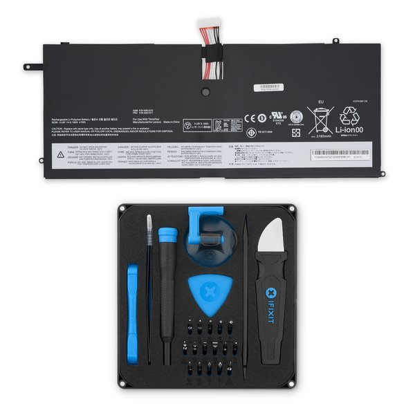 Lenovo ThinkPad X1 Carbon Gen 1 (2012) Replacement Battery / Fix Kit