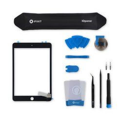 iPad mini 3 Screen / All-New / Fix Kit / Black