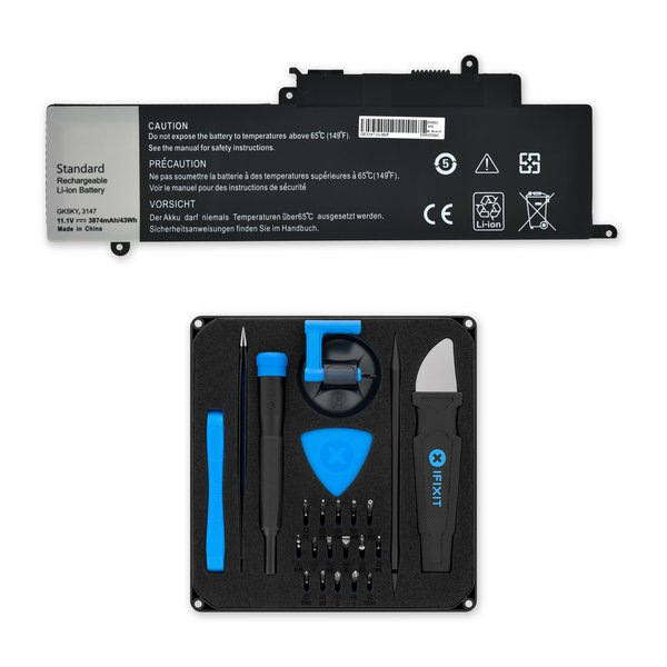 Dell Inspiron 11 3157, Inspiron 13 7348, 7352, and 7353 Replacement Battery / Fix Kit