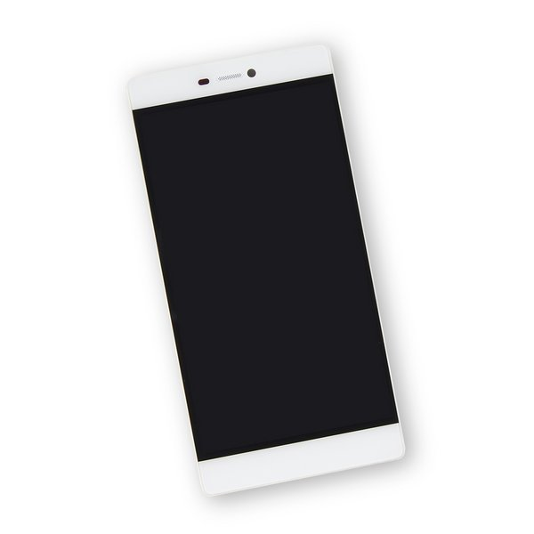 Huawei P8 LCD Screen and Digitizer Assembly / White / Part Only