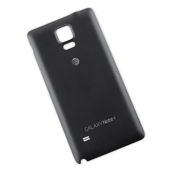 Galaxy Note 4 Rear Panel / Black / AT&T