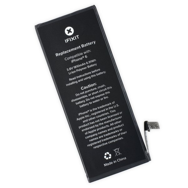 iphone 6 replacement battery fix kit ifixit. Black Bedroom Furniture Sets. Home Design Ideas