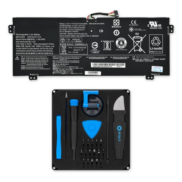 "Lenovo Yoga 720 13"" Replacement Battery / Fix Kit"