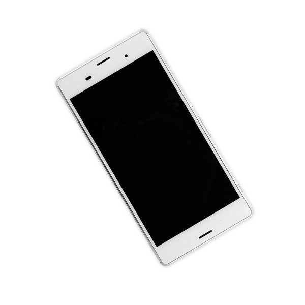 Sony Xperia Z3 LCD Screen and Digitizer Full Assembly / White / Part Only