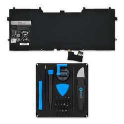 Dell XPS 12 9Q33/L221X, and XPS 13 9333 Replacement Battery / Fix Kit