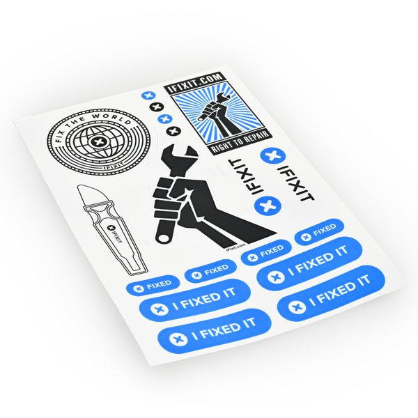 iFixit Brand Sticker Collection
