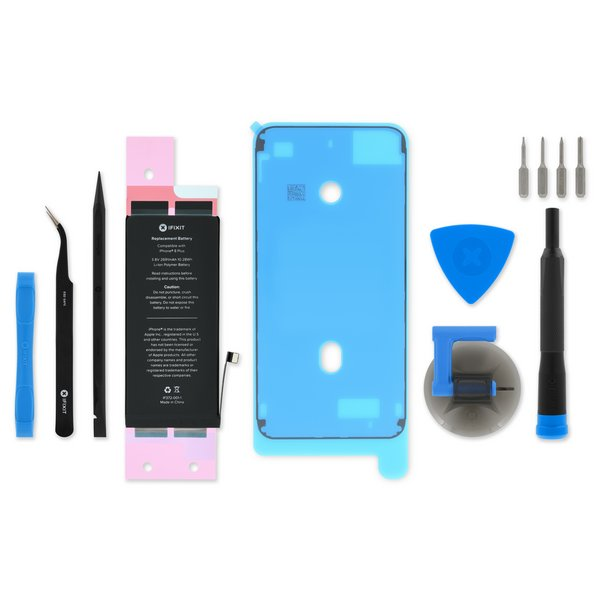iPhone 8 Plus Replacement Battery / Fix Kit with Adhesive