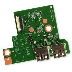 HP Chromebook 14-ak013dx USB I/O Board