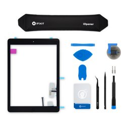 iPad Air Screen Digitizer / New / Fix Kit / Black