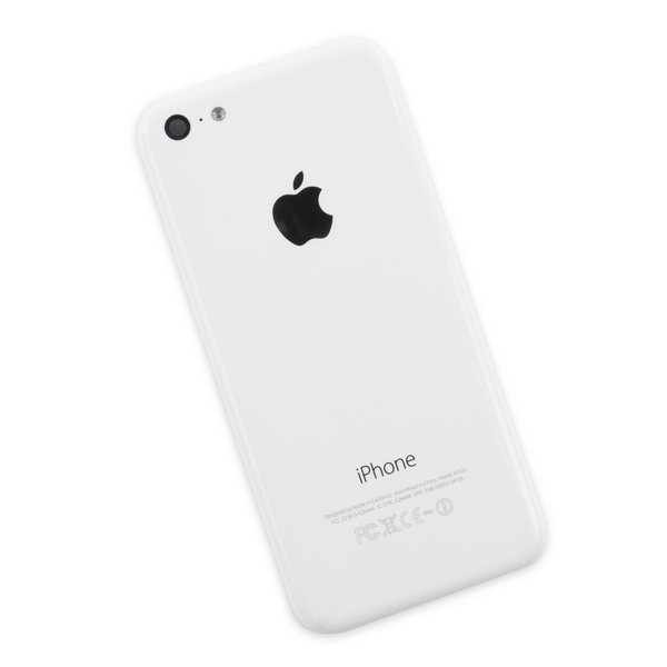 iPhone 5c Rear Case / White / B-Stock
