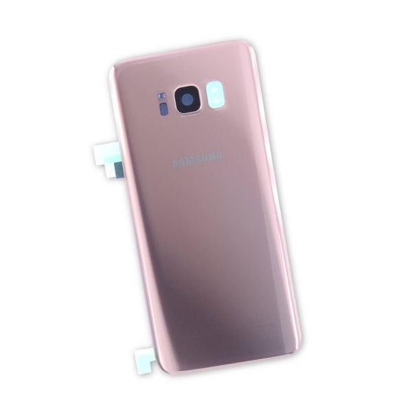 Galaxy S8 Rear Glass Panel/Cover - Original / Rose Gold / New / Part Only