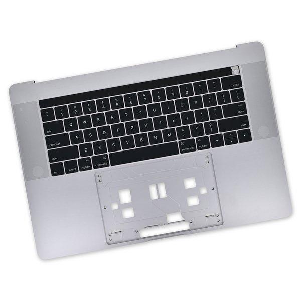 "MacBook Pro 15"" Retina (Late 2016-2017) Upper Case / A-Stock / Dark Gray"