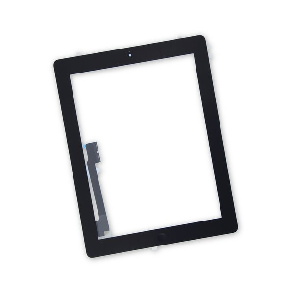 iPad 4 Front Glass/Digitizer Touch Panel Full Assembly / New / Part Only / Black