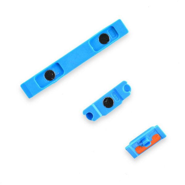 iPhone 5c Case Button Set / Blue