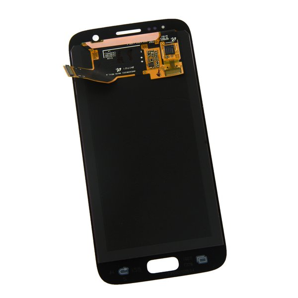 Galaxy S7 LCD Screen and Digitizer / Silver / Part Only